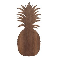 houten wandverlichting pineapple