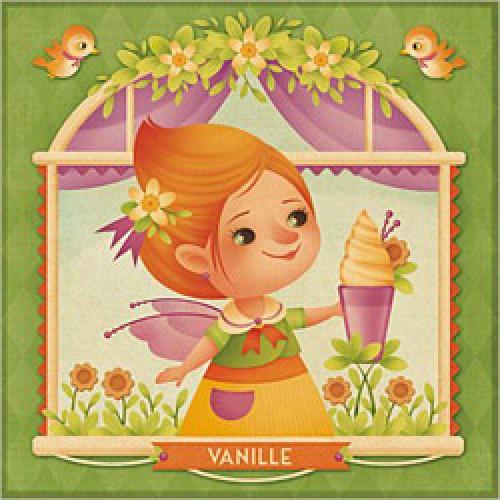 La Marelle Editions-postkaart Gaïa Bordicchia-vanille-1150