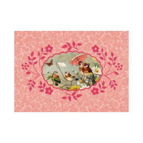 Froy en Dind-postkaart kers op de kaart-vogelsuitje-1293