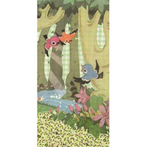Froy en Dind-postkaart US formaat kers op de kaart-in het bos-1311