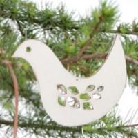 houten hanger vogel big