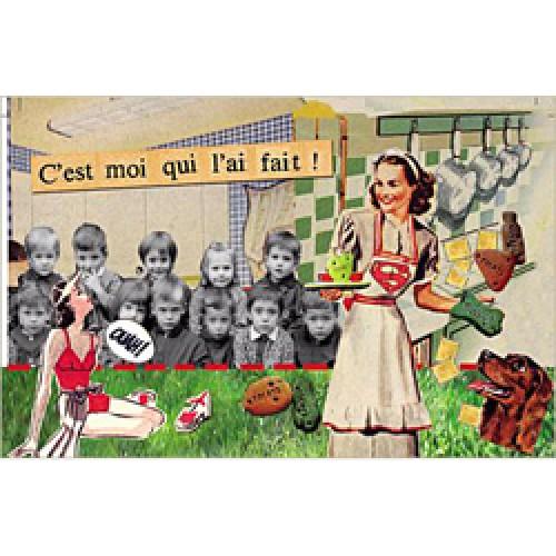 La Marelle Editions-kleine wenskaart la marelle-smakelijk-1390