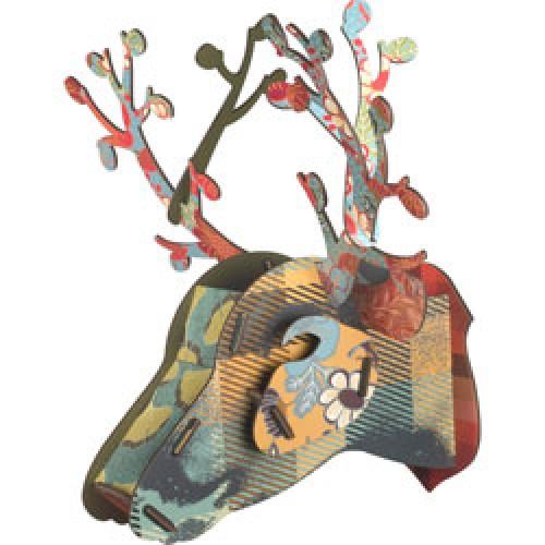 Miho-kleurrijke hert trofee-foliage-1862