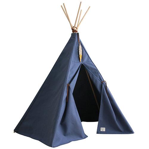 Nobodinoz-superleuke Tipi tent Nevada-aegean blue-9673
