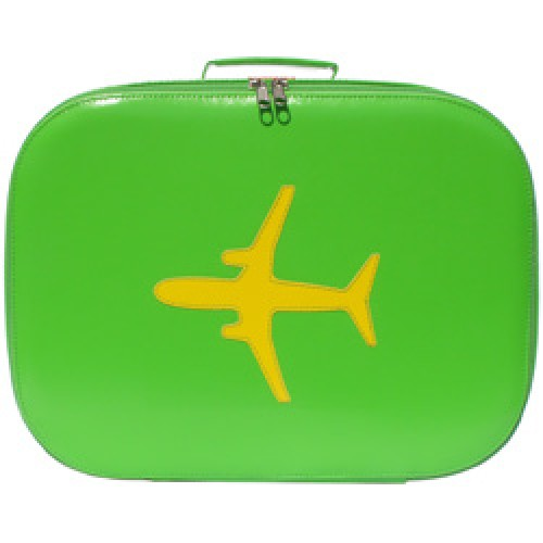 Bakker Made With Love-koffer vliegtuig L-groen L-2075