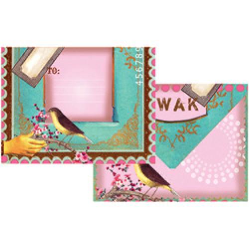 Papaya-set briefkaarten en enveloppen-swak-2509