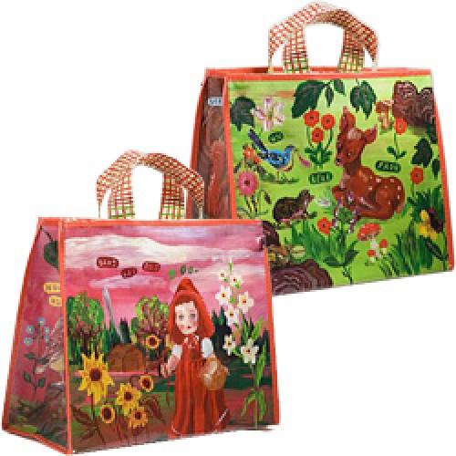 La Marelle Editions-boodschappentas met portemonnee-roodkapje-2529