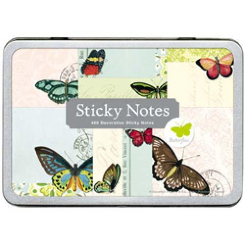 Cavallini-set van 480 mooie plakbriefjes-vlinders-2547