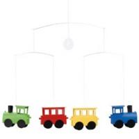 kleurrijke trein mobiel