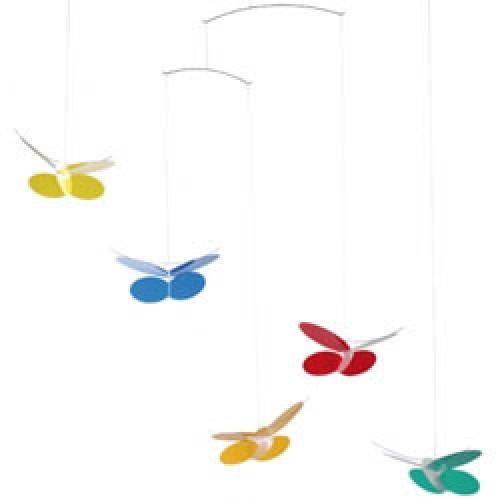 Flensted Mobiles-romantische vlinder mobiel-butterflies-2585