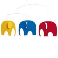 kleurrijke olifanten mobiel
