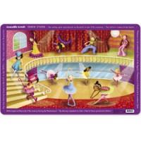 kleurrijke placemat voor kinderen
