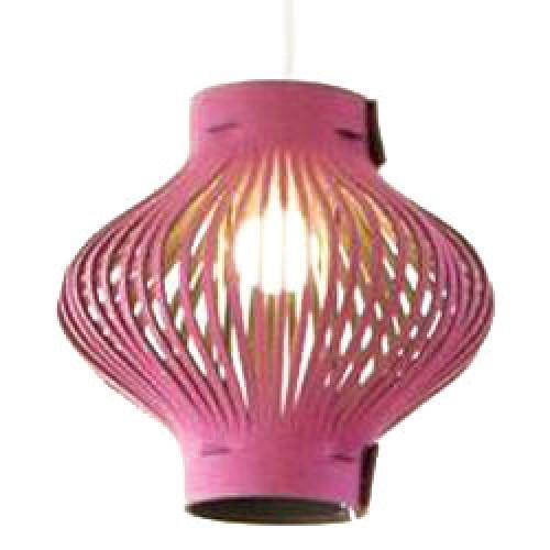 Buzzikidz-design lamp in ecovilt-roze + eco grijs-2881