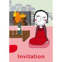 hippe uitnodiging