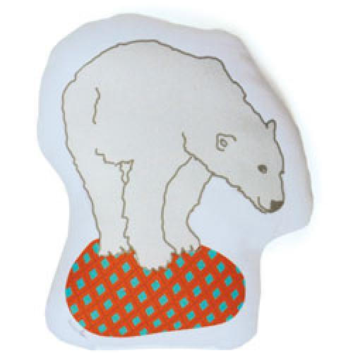 Mim'ilou-schattig beren knuffel kussentje-ijsbeer-3213