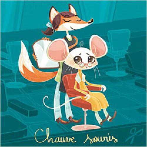 La Marelle Editions-postkaart la marelle-kale muis-3375