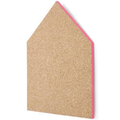 Ferm Living-UITVERKOCHT prikbord in kurk - large-large neon pink-3455