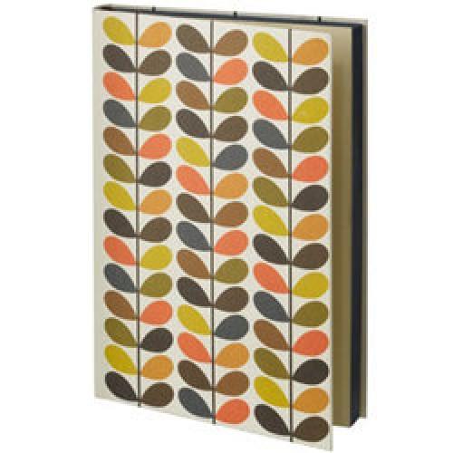 Orla Kiely-UITVERKOCHT stijlvolle notitieboek multi stem-multi stem large-3475