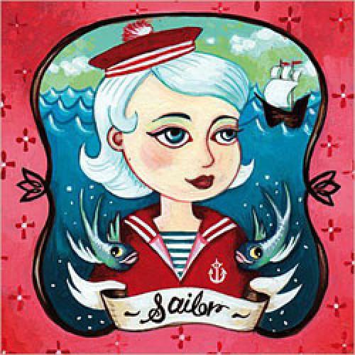 La Marelle Editions-postkaart la marelle-sailor-3547