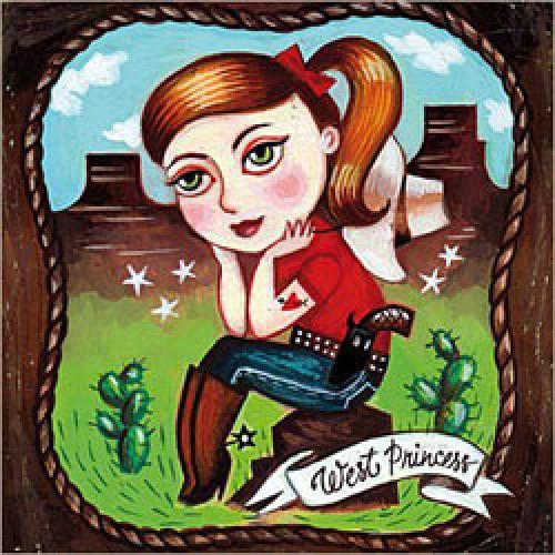 La Marelle Editions-postkaart la marelle-west princess-3548