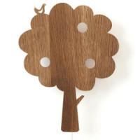 houten wandverlichting tree