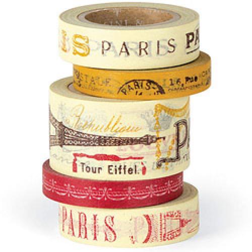 Cavallini-blik met 5 rolletjes washi tape-parijs-3614