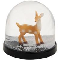 mooie sneeuw schudbol bambi