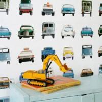 origineel auto behangpapier