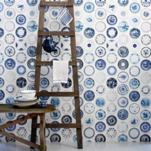 Studio Ditte-origineel borden behangpapier-blauwe bordjes-3896