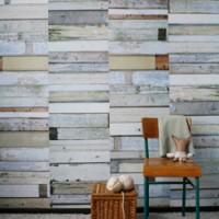 origineel sloophout behangpapier