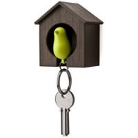 vogelhuisje sleutelhanger