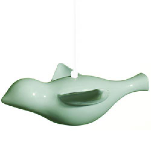Alma's Room-handgemaakte keramische vogellamp-early bird turquoise-4550