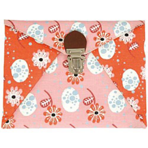 La Marelle Editions-handige etui in jute fleurs-bloemen-4630