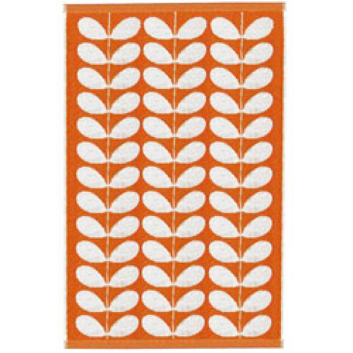 Orla Kiely-badlaken stem jacquard-stem jacquard clementine-4743