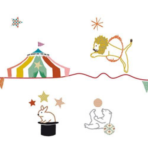 Mim'ilou-muursticker fries cirque-circus-4974