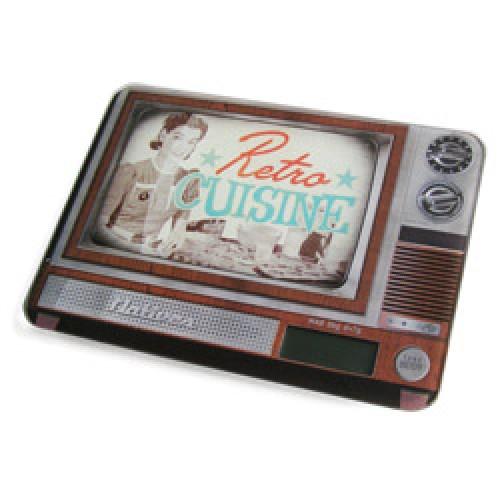 Natives-electronische keukenweegschaal retro tv-retro tv-5221