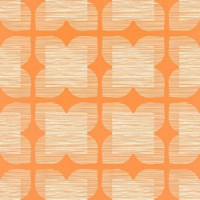 orla kiely behang flower tile