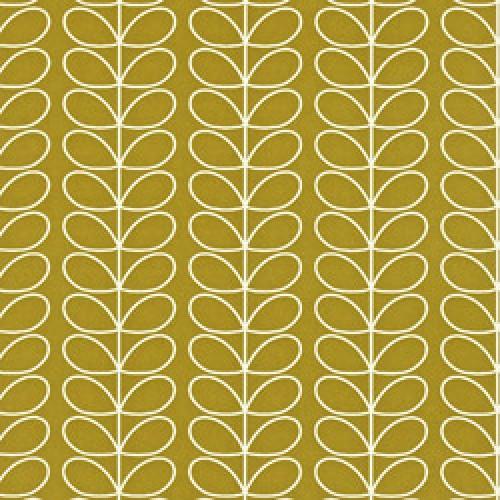 Orla Kiely-orla kiely behang linear stem-linear stem olive-5394