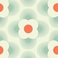 orla kiely behang striped petal