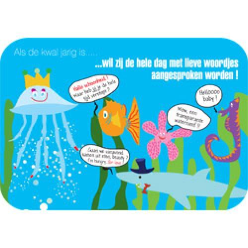 Mum Moves Cards-kleurrijke postkaart mum loves cards-verjaardag kwal-5423