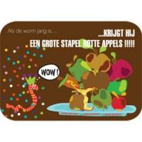 kleurrijke postkaart mum loves cards