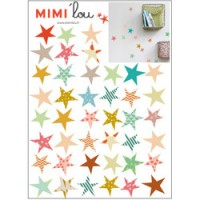 mini muursticker sterren