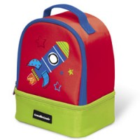 speelse isolerende lunchbox
