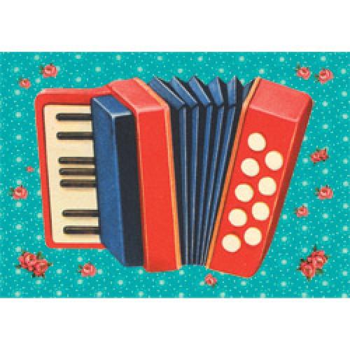 Froy en Dind-postkaart kers op de kaart-accordeon-5956