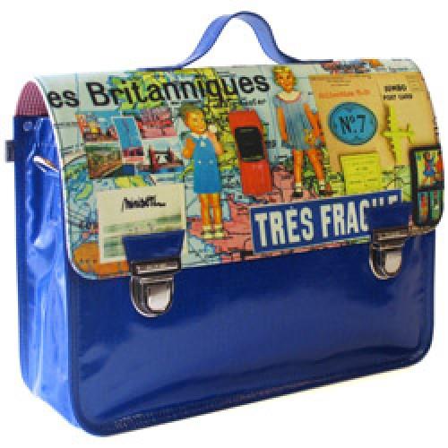 buy online 92406 207b8 Miniseri-grote hippe schooltas britanniques-les britanniques-prod5980-nl