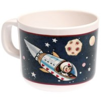 drinkbeker spaceboy in melamine
