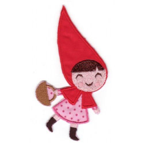 Linna Morata-roodkapje strijkapplicatie-roodkapje-6244