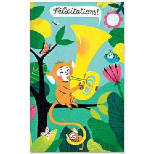La Marelle Editions-kleine wenskaart geboorte-geboorte elsa fouquier 1-6361