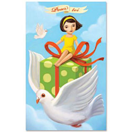 La Marelle Editions-kleine wenskaart cadeau-cadeau ling 1-6373