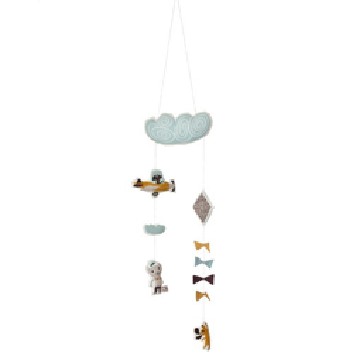 Ferm Living-speelse vliegtuig mobiel-kite mobiel-6401